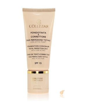 Collistar Face Foundation + Concealer Duo LSF 15 Flüssige Foundation für Damen