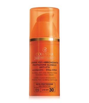 Collistar Sun Care Global Anti-Age Protection Tanning Face SPF 30 Sonnencreme für Damen und Herren