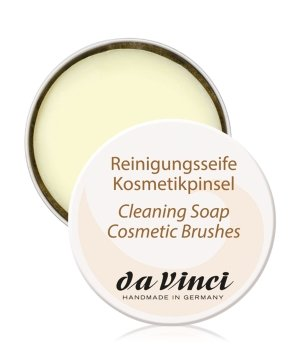 da Vinci Reinigungsseife Kosmetikpinsel  Pinselseife für Damen und Herren