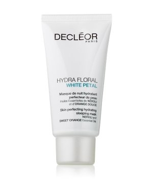 Decléor Hydra Floral White Petal Sleeping Mask Gesichtsmaske für Damen