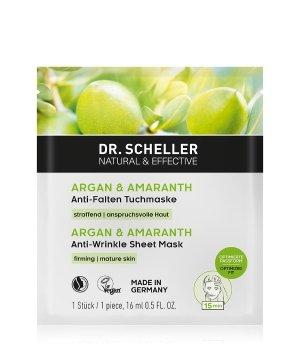 Dr. Scheller Arganöl & Amaranth  Tuchmaske für Damen und Herren