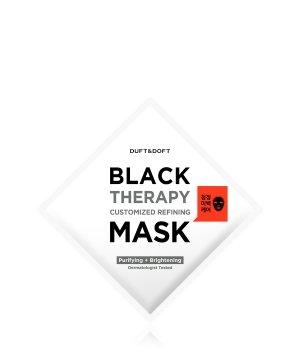 DUFT & DOFT Black Therapy  Tuchmaske für Damen und Herren