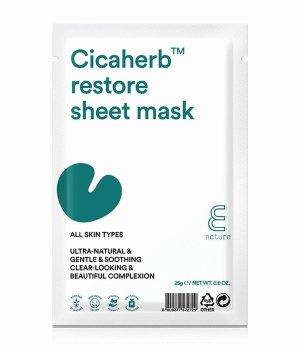 E Nature Cicaherb Restore  Tuchmaske für Damen und Herren