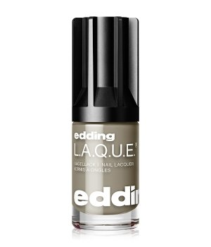 edding L.A.Q.U.E. e-80 LAQUE mood for mud Nagellack für Damen und Herren