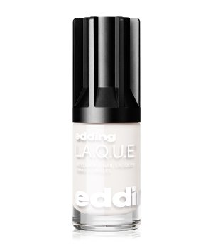 edding L.A.Q.U.E. e-80 LAQUE white wedding Nagellack für Damen
