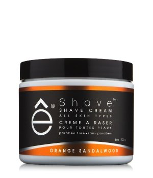 eShave Orange Sandelholz  Rasiercreme für Herren