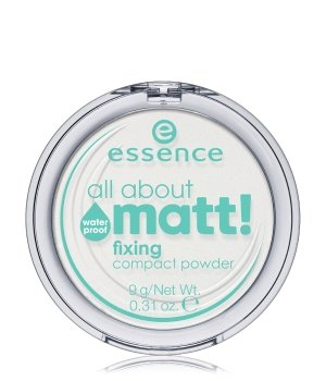 essence All About Matt! Fixing Compact Powder Waterproof Fixierpuder für Damen