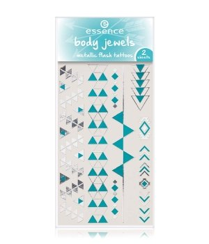essence Body Jewels Metallic Flash Tattoos Trib...