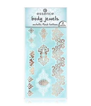 essence Body Jewels Metallic Flash Tattoos Vint...