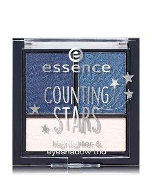 essence Counting Stars Highlighter & Eyeshadow Trio Lidschatten Palette für Damen