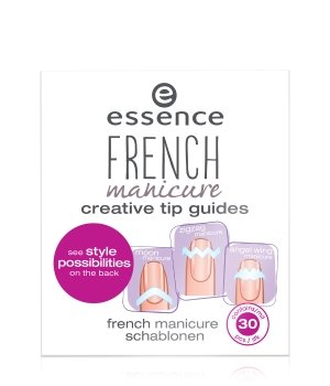 essence French Manicure From Heaven With Love Nagelschablonen für Damen
