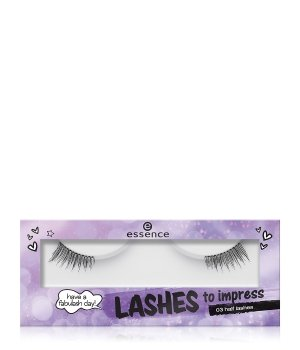 essence Lashes To Impress Half Lashes Wimpern für Damen