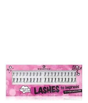 essence Lashes To Impress Single Mix Einzelwimpern für Damen
