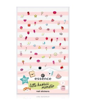 essence Little Kawaii Monster  Nagelsticker für Damen