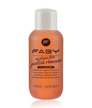 FABY Acetone-Free  Nagellackentferner für Damen