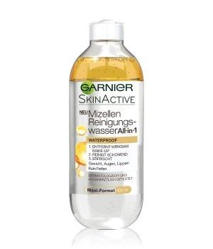 GARNIER SkinActive Mizellen Reinigungswasser All-in-1 Waterproof Gesichtswasser für Damen