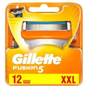 Gillette Fusion Systemklingen Rasierklingen für Herren
