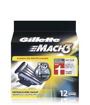 Gillette MACH3 Systemklingen Rasierklingen für Herren