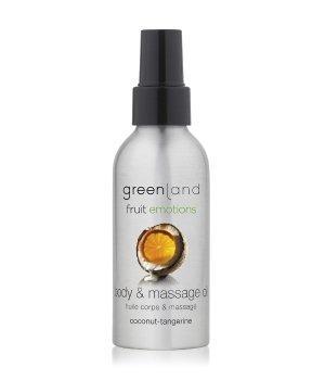 Greenland Fruit Emotions Coconut-Tangerine Massageöl für Damen