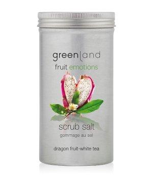Greenland Fruit Emotions Dragon Fruit-White Tea Scrub Salt Körperpeeling für Damen und Herren