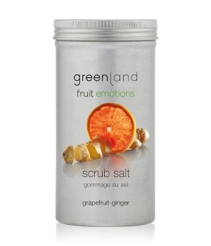 Greenland Fruit Emotions Grapefruit-Ginger Scrub Salt Körperpeeling für Damen