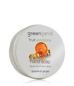 Greenland Fruit Emotions Grapefruit-Ginger Stückseife für Damen
