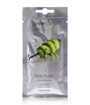 Greenland Fruit Emotions Lime-Vanilla Gesichtsmaske für Damen
