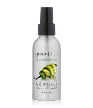 Greenland Fruit Emotions Lime-Vanilla Massageöl für Damen