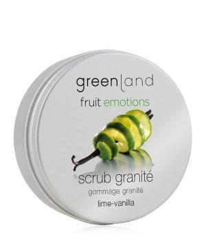 Greenland Fruit Emotions Lime-Vanilla Scrub Granité Körperpeeling für Damen und Herren