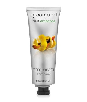 Greenland Fruit Emotions Papaya-Lemon Handcreme für Damen und Herren