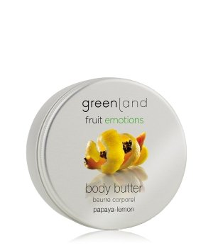 Greenland Fruit Emotions Papaya-Lemon Körperbutter für Damen