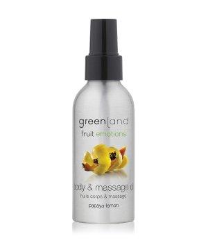 Greenland Fruit Emotions Papaya-Lemon Massageöl für Damen