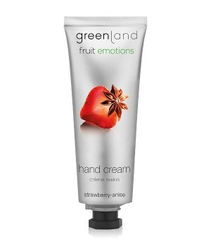 Greenland Fruit Emotions Strawberry-Anise Handcreme für Damen und Herren