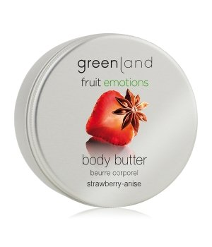 Greenland Fruit Emotions Strawberry-Anise Körperbutter für Damen