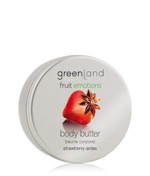 Greenland Fruit Emotions Strawberry-Anise Körperbutter für Damen