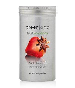 Greenland Fruit Emotions Strawberry-Anise Scrub Salt Körperpeeling für Damen