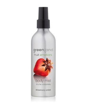 Greenland Fruit Emotions Strawberry-Anise Körperspray für Damen