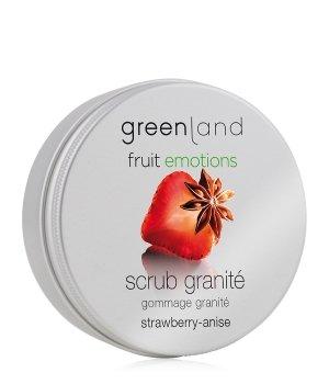 Greenland Fruit Emotions Strawberry-Anise Scrub Granité Körperpeeling für Damen und Herren