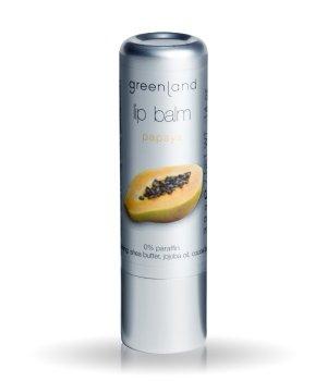 Greenland Lip balm Papaya Lippenbalsam für Damen