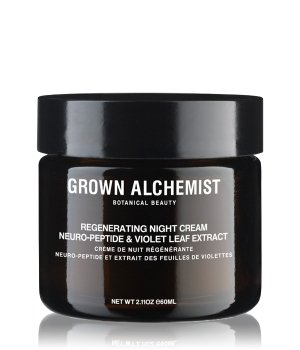 Grown Alchemist Regenerating Night Cream Neuro Peptide & Violet Leaf Extract Nachtcreme für Damen und Herren