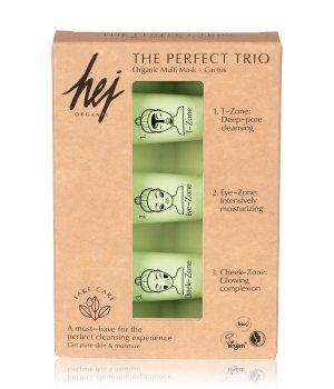 Hej Organic The Perfect Trio Cactus Gesichtspflegeset für Damen und Herren