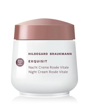 Hildegard Braukmann Exquisit Creme Rosée Vitale Nachtcreme für Damen