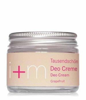 i+m Naturkosmetik Tausendschön Grapefruit Deodorant Creme für Damen