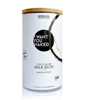 I WANT YOU NAKED Kokosnuss & Vitamin E Kokos-Milchbad Badezusatz
