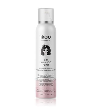 ikoo Dry Shampoo Foam Color Protect & Repair Trockenshampoo für Damen und Herren