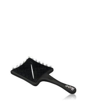 ikoo Paddle X Farbe: Beluga Black No Tangle Bürste für Damen und Herren
