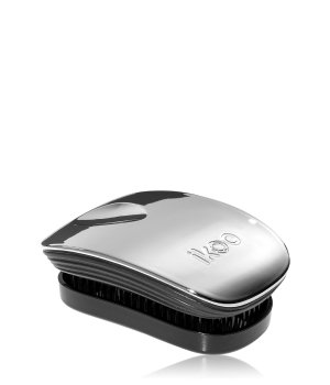 ikoo Pocket Oyster Metallic Black No Tangle Bürste