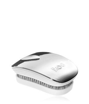 ikoo Pocket Oyster Metallic White No Tangle Bürste für Damen und Herren