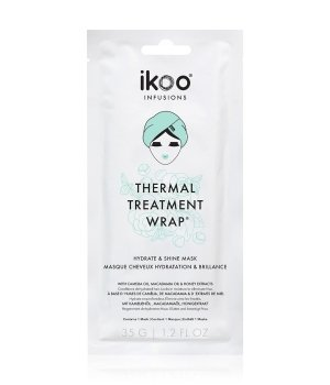 ikoo Thermal Treatment Wrap Hydrate & Shine Haarkur für Damen