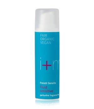 i+m Naturkosmetik Freistil Sensitiv Fluid sensitive parfumfrei Gesichtsfluid für Damen und Herren